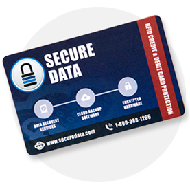 SecureData Card Protect RFID Credit Card Wallet Protection